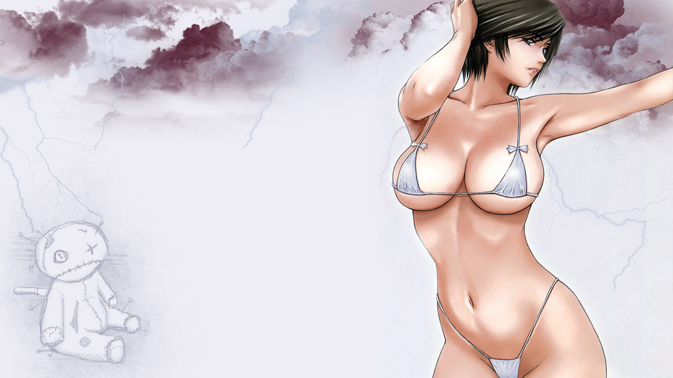 Fantasy anime girl half naked wallpaper exploited pictures