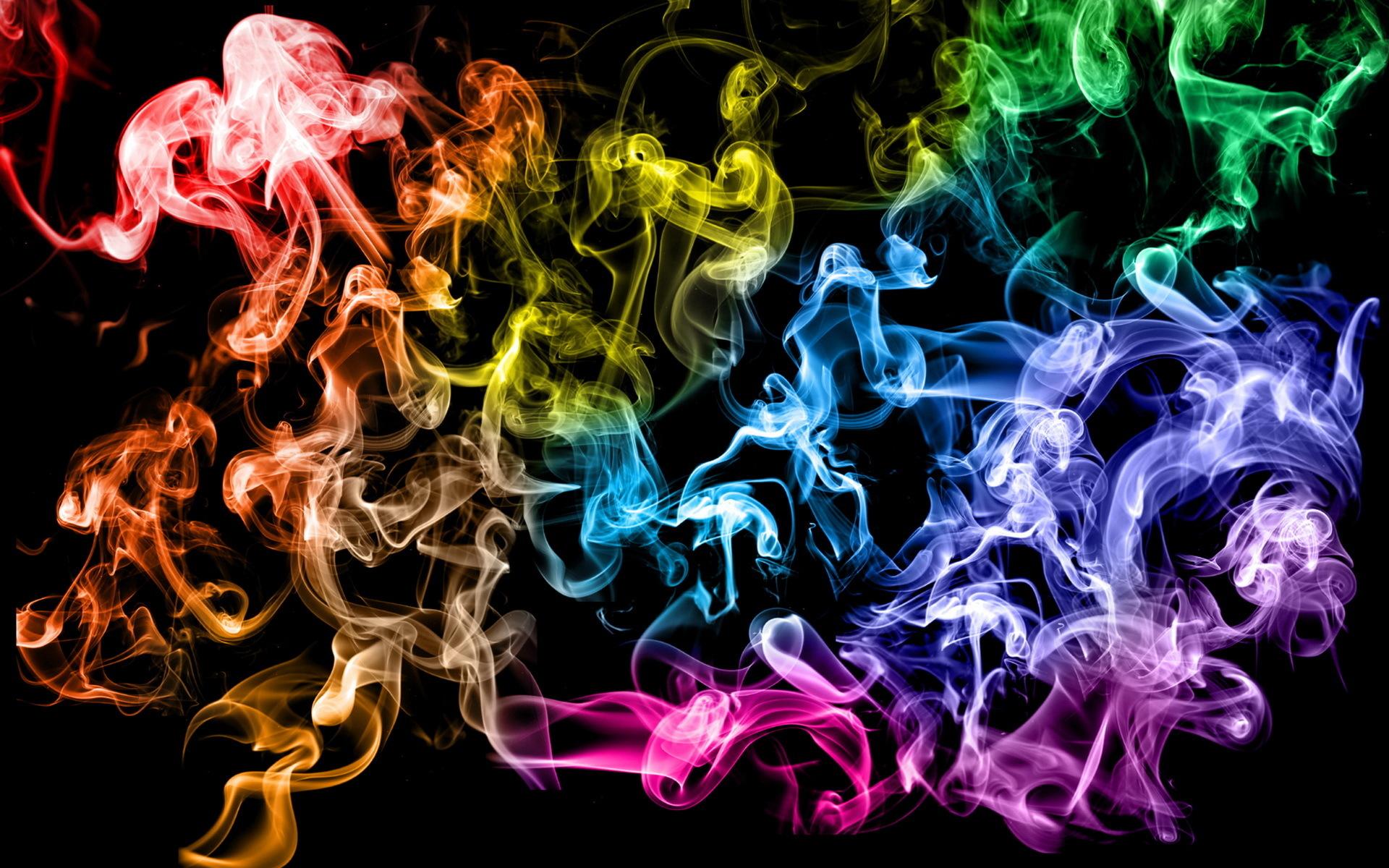 долгое картинки разноцветного на черном ранних