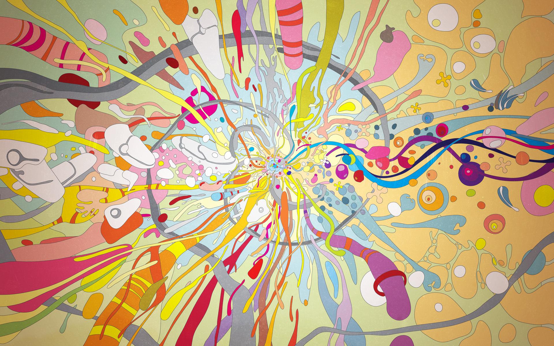 ручей абстракции в дизайне в картинках этом разделе нашего