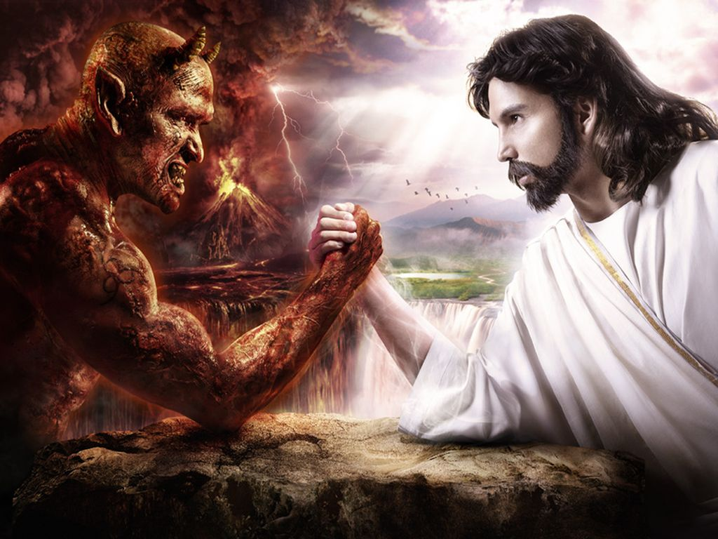 Картинка демон и боги