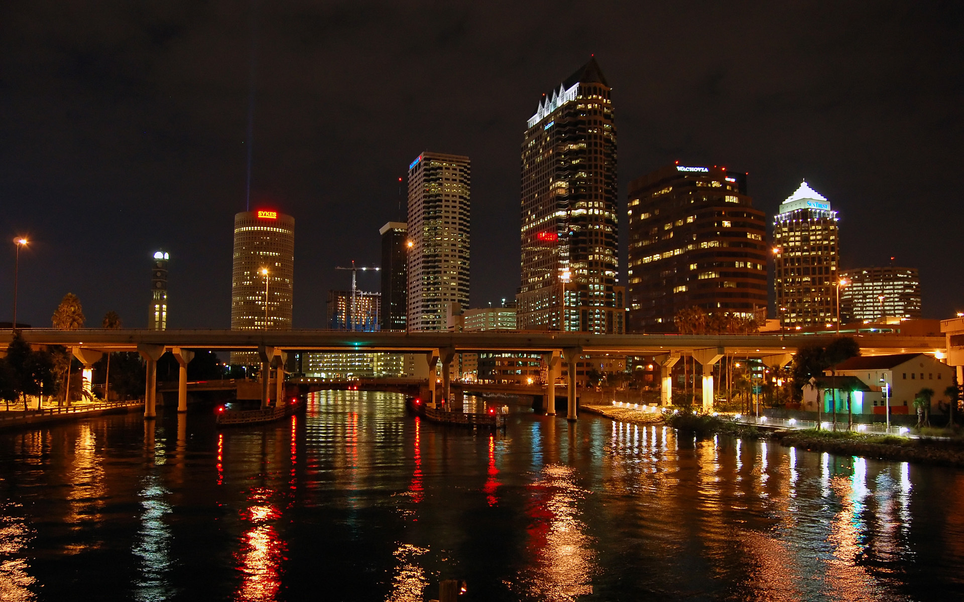 фото ночного города на рабочий стол ускорить процесс