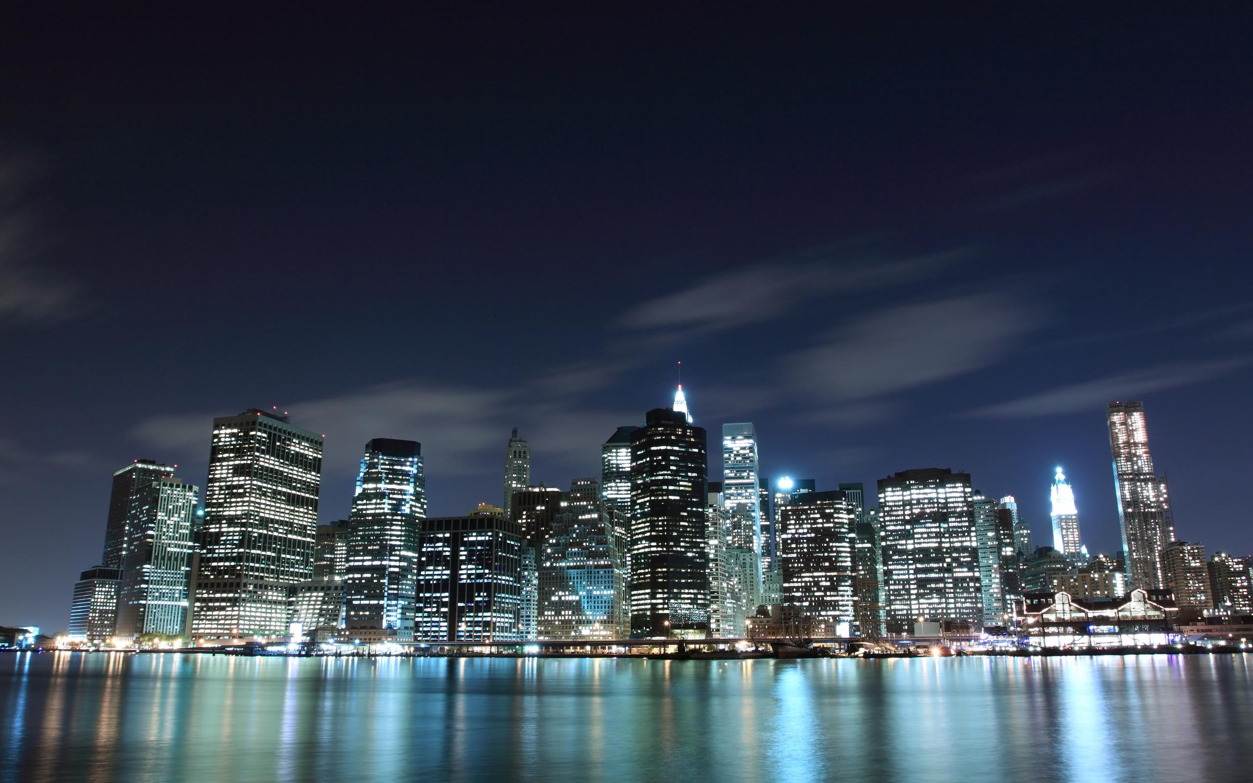 ночной город картинки высокого