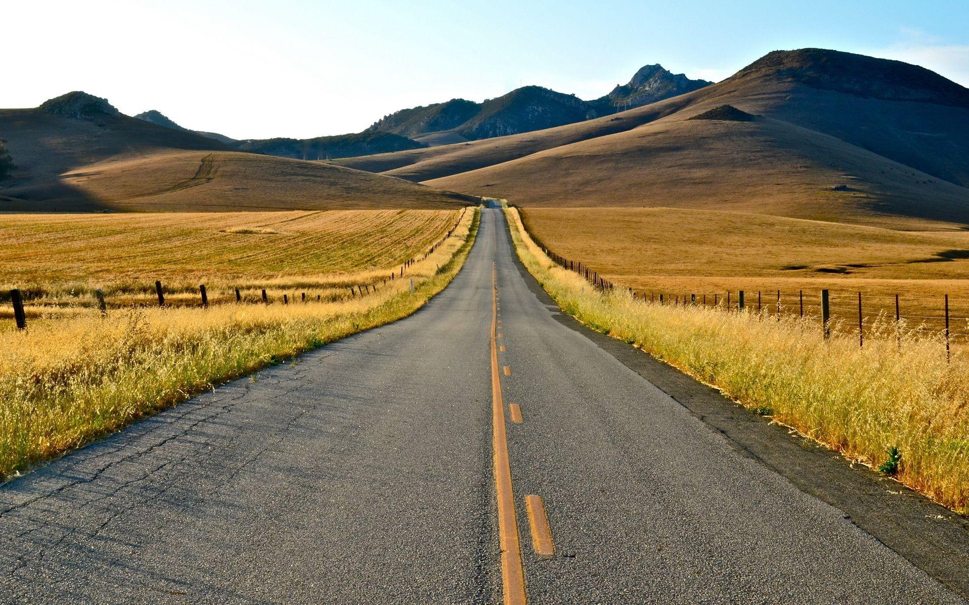 Картинки с дорогами пейзажи