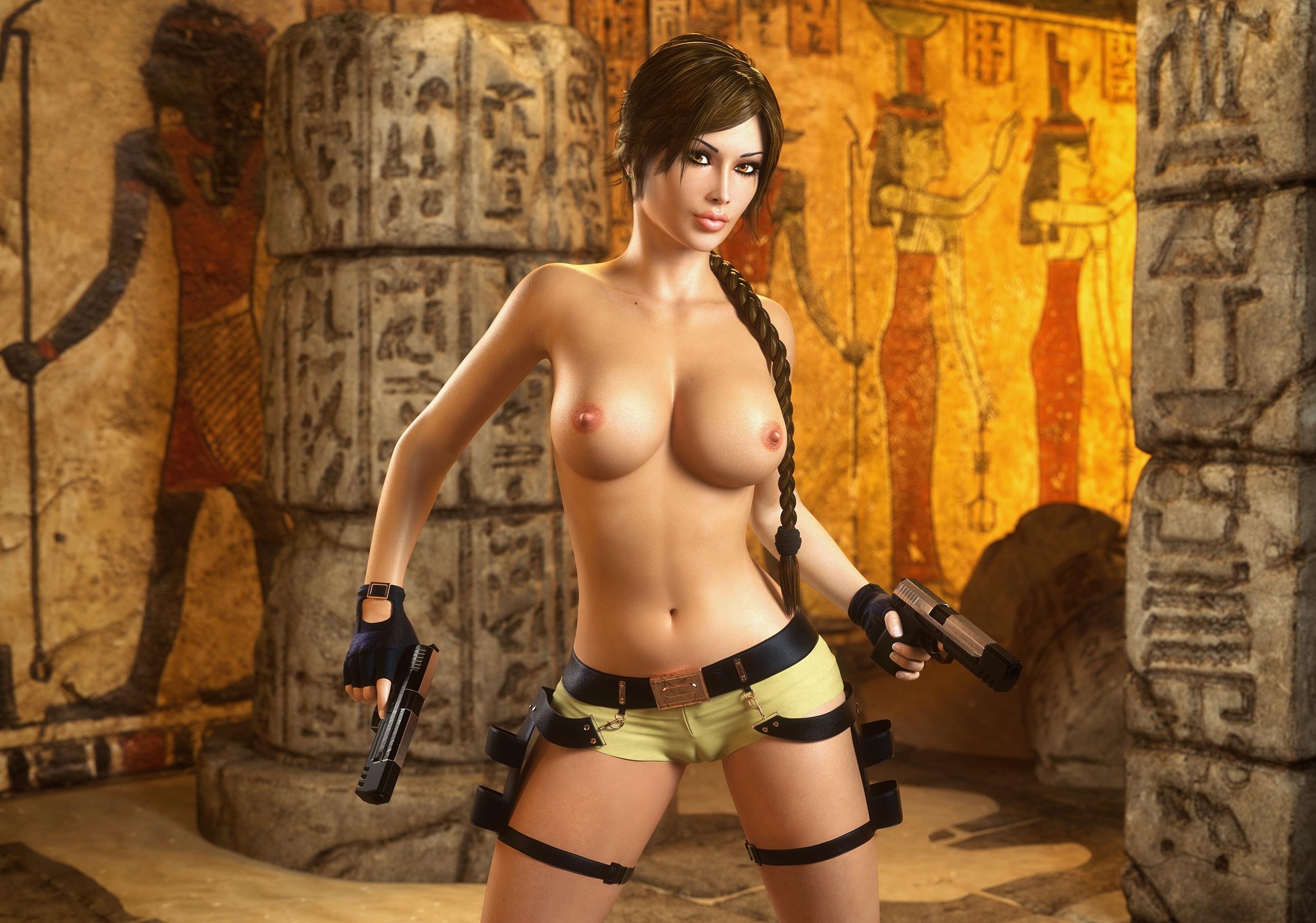 голые девушки в видео играх