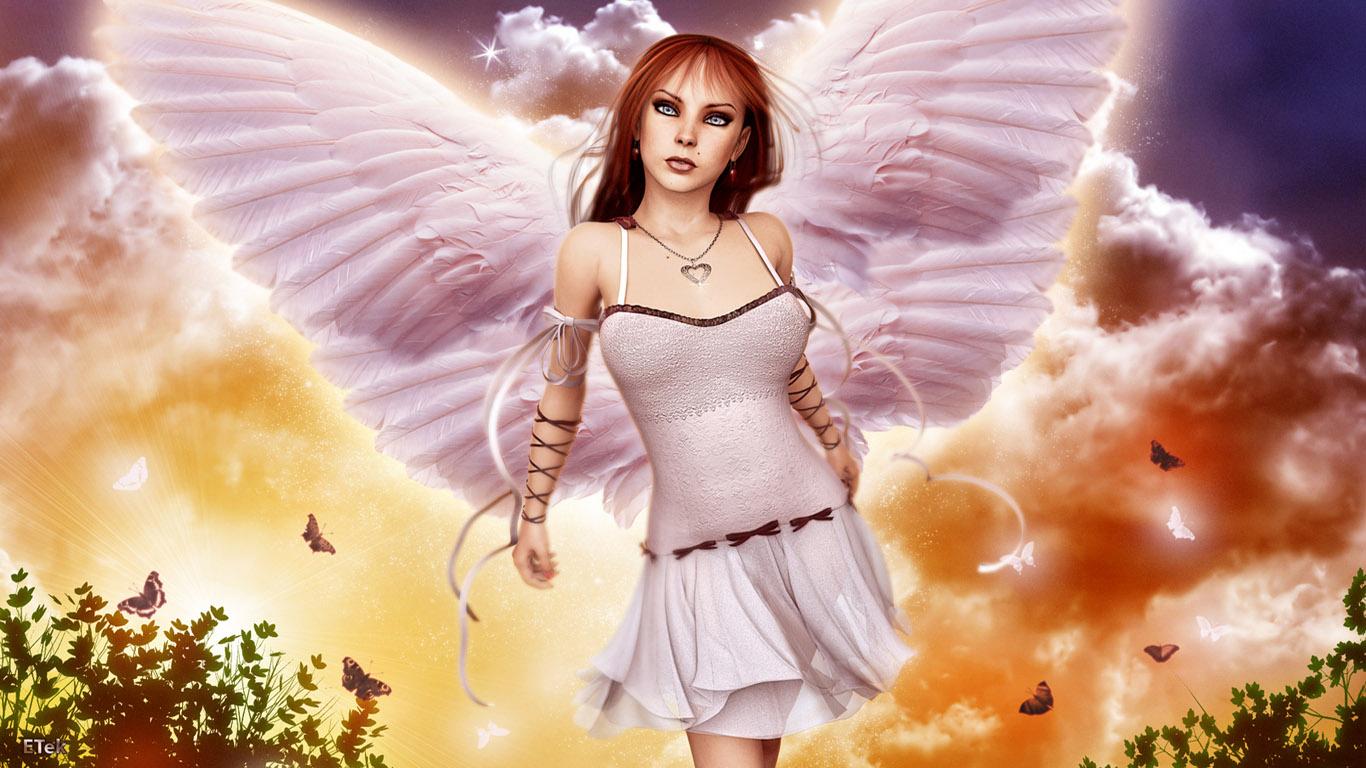 картинки на рабочий стол ангелы в хорошем качестве фото