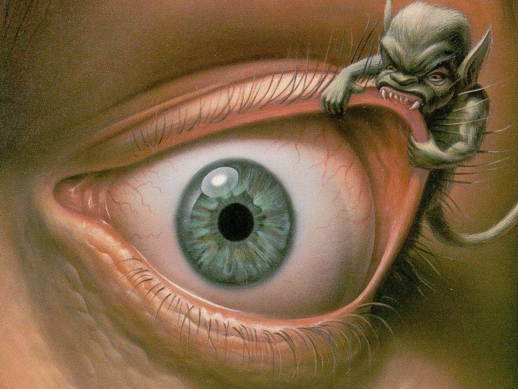 Смешные картинки мутного глаза