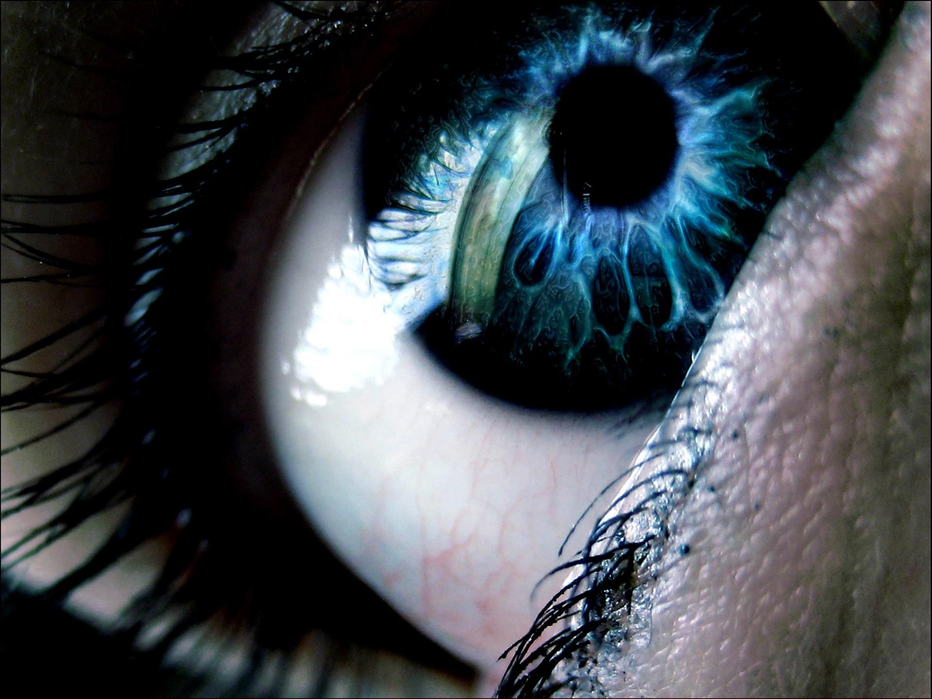 картинка живого глаза