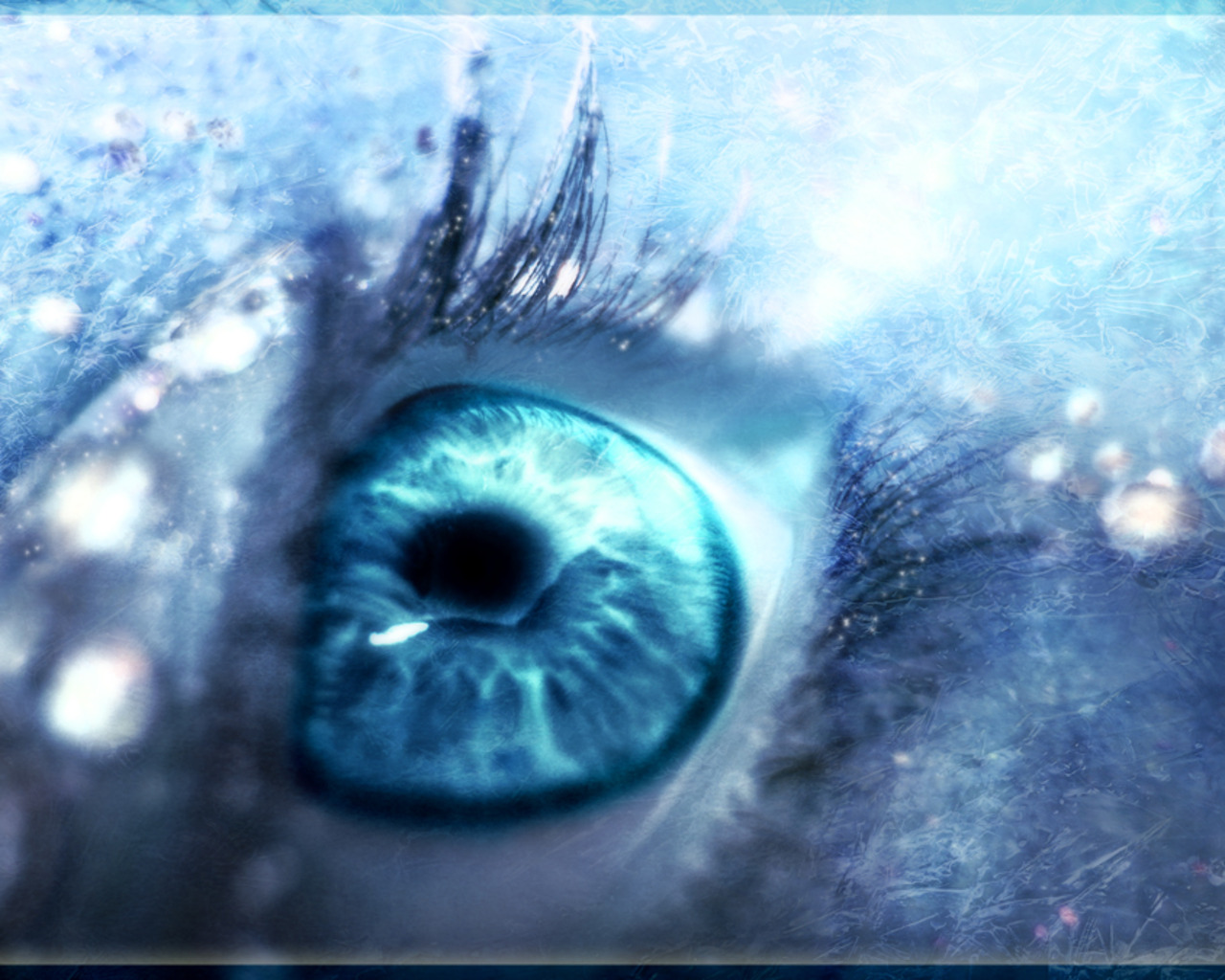 Картинка глаза неба синего