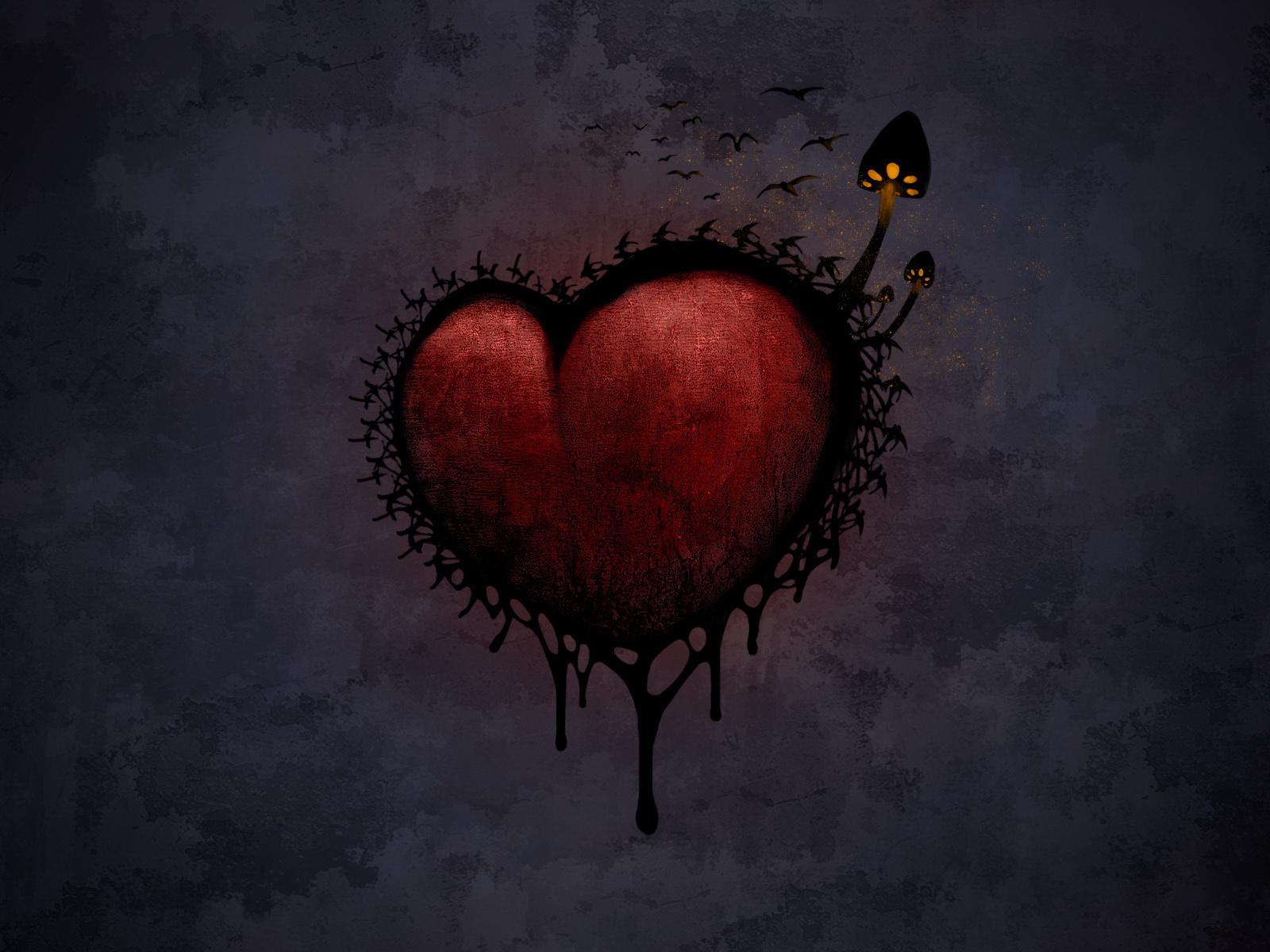 Страшные картинки про любовь