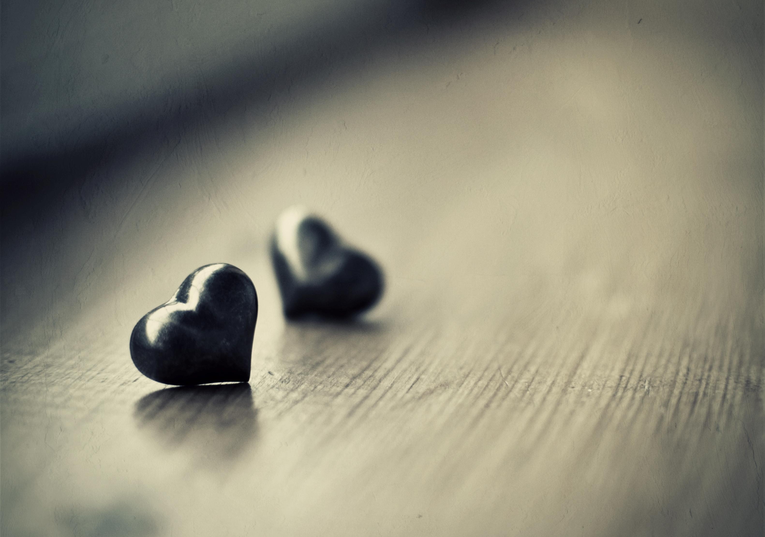 Картинки грустного стиха с сердечками