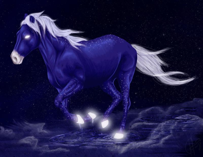 картинки с лошадьми голубой попался твой капкан