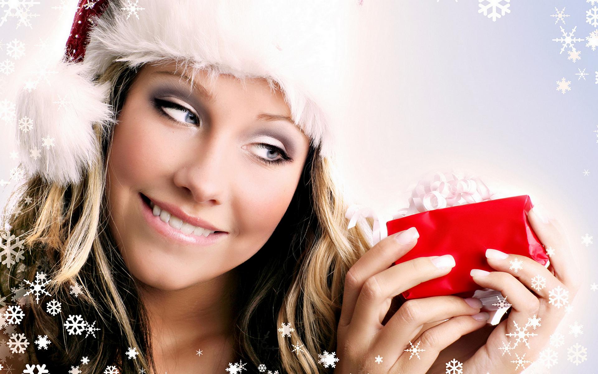 Новогодние картинки для рекламы салона красоты