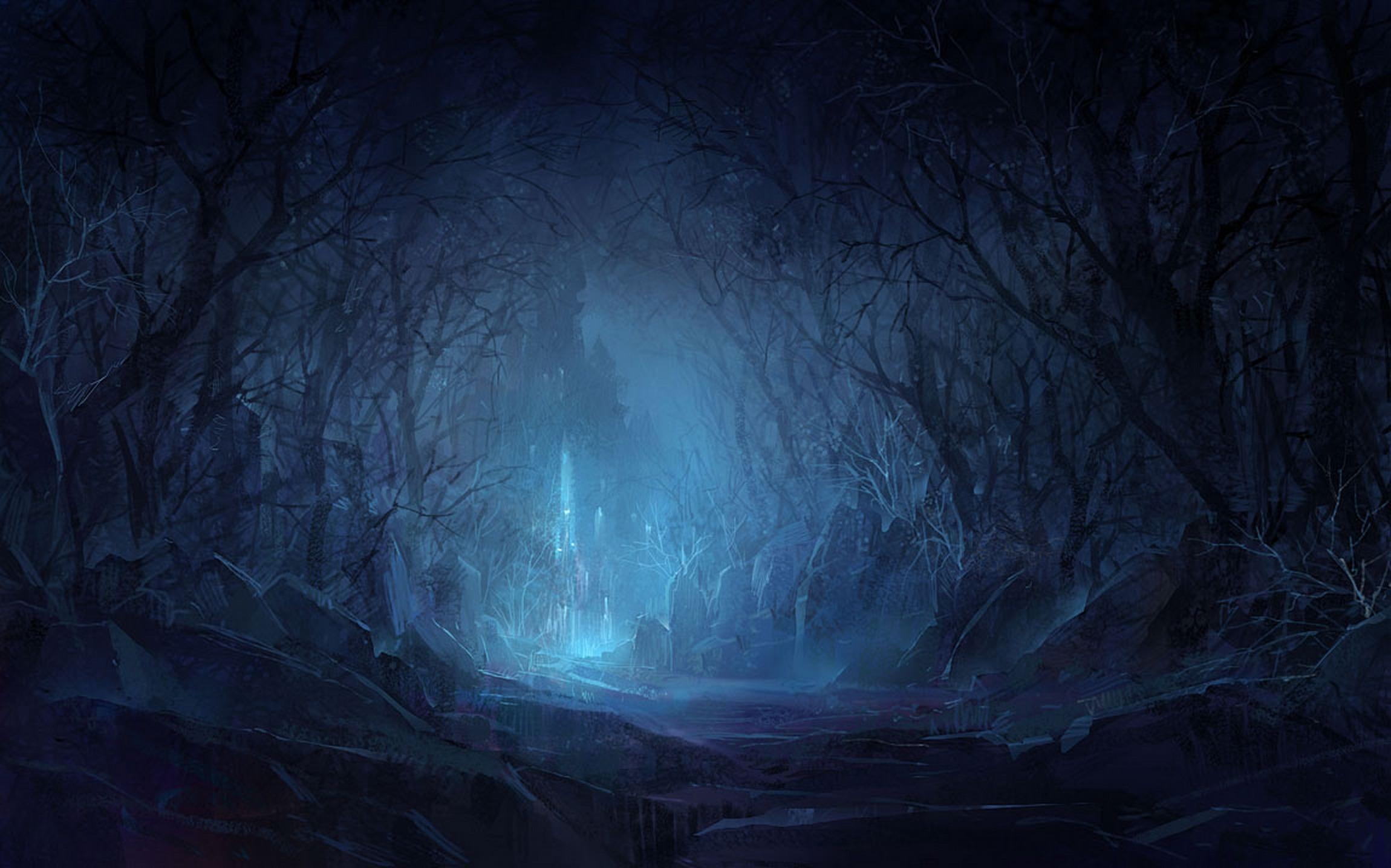 картинки призрачного леса была довольно скромной
