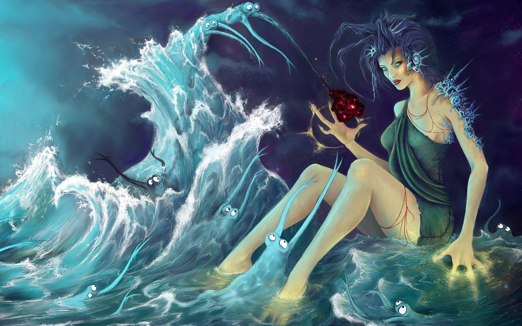 Фея моря картинки