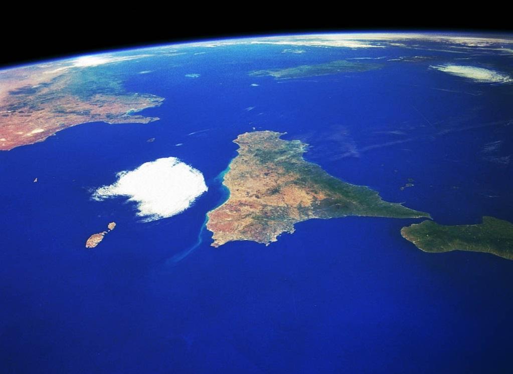 океан фото с космоса