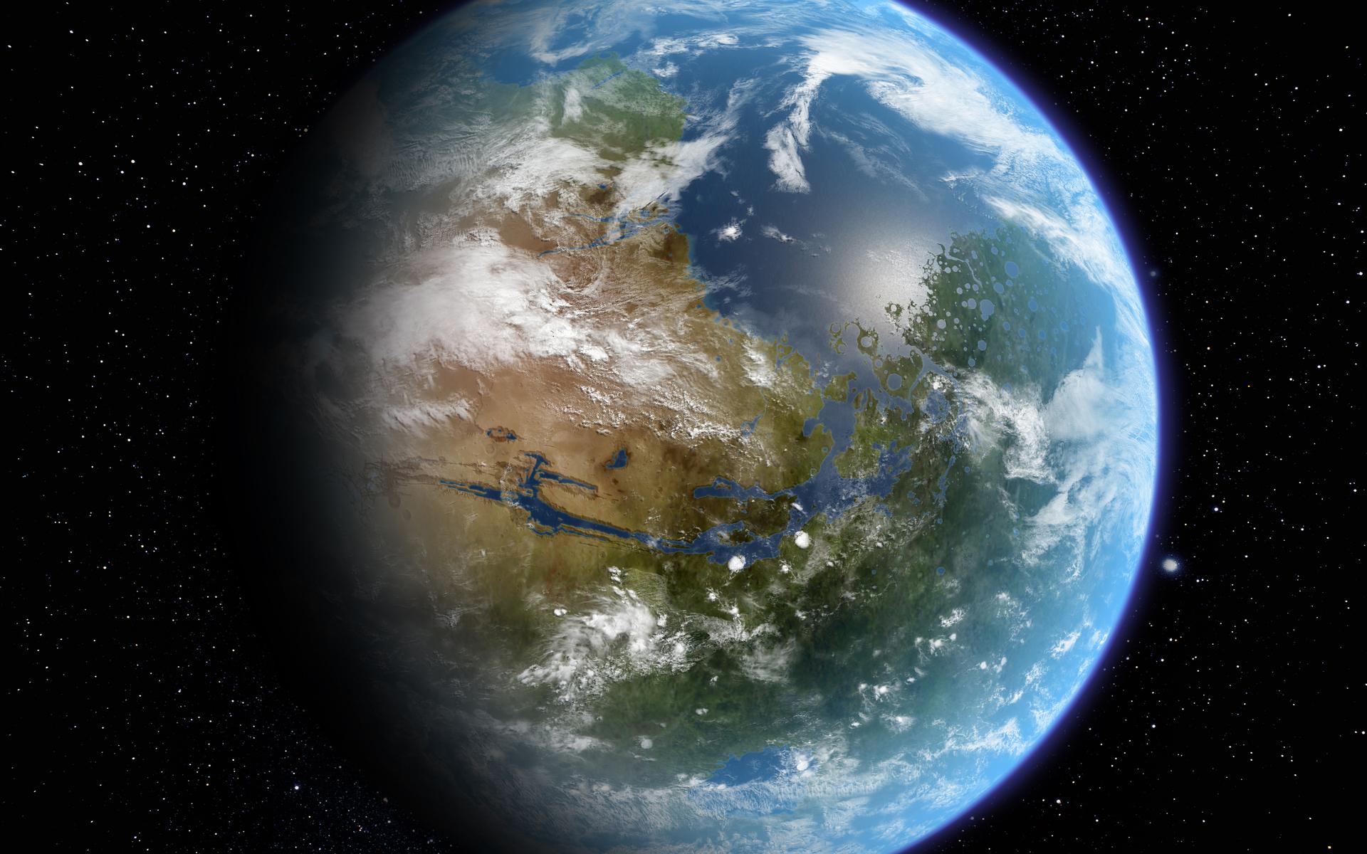 приготовления голубая планета летит к земле фото здесь помогут
