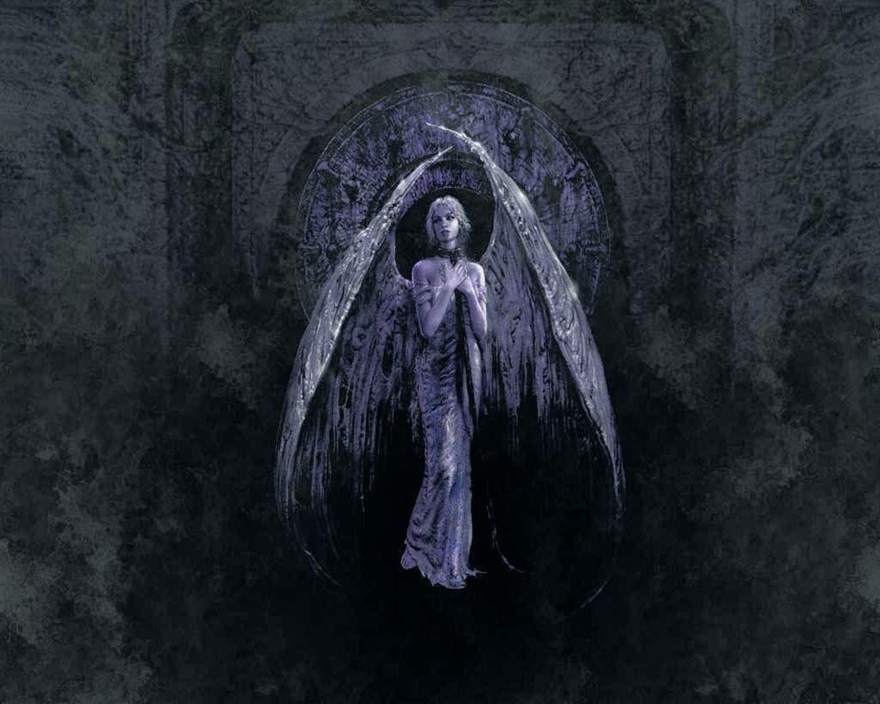 что черный ангел мистика картинки зря