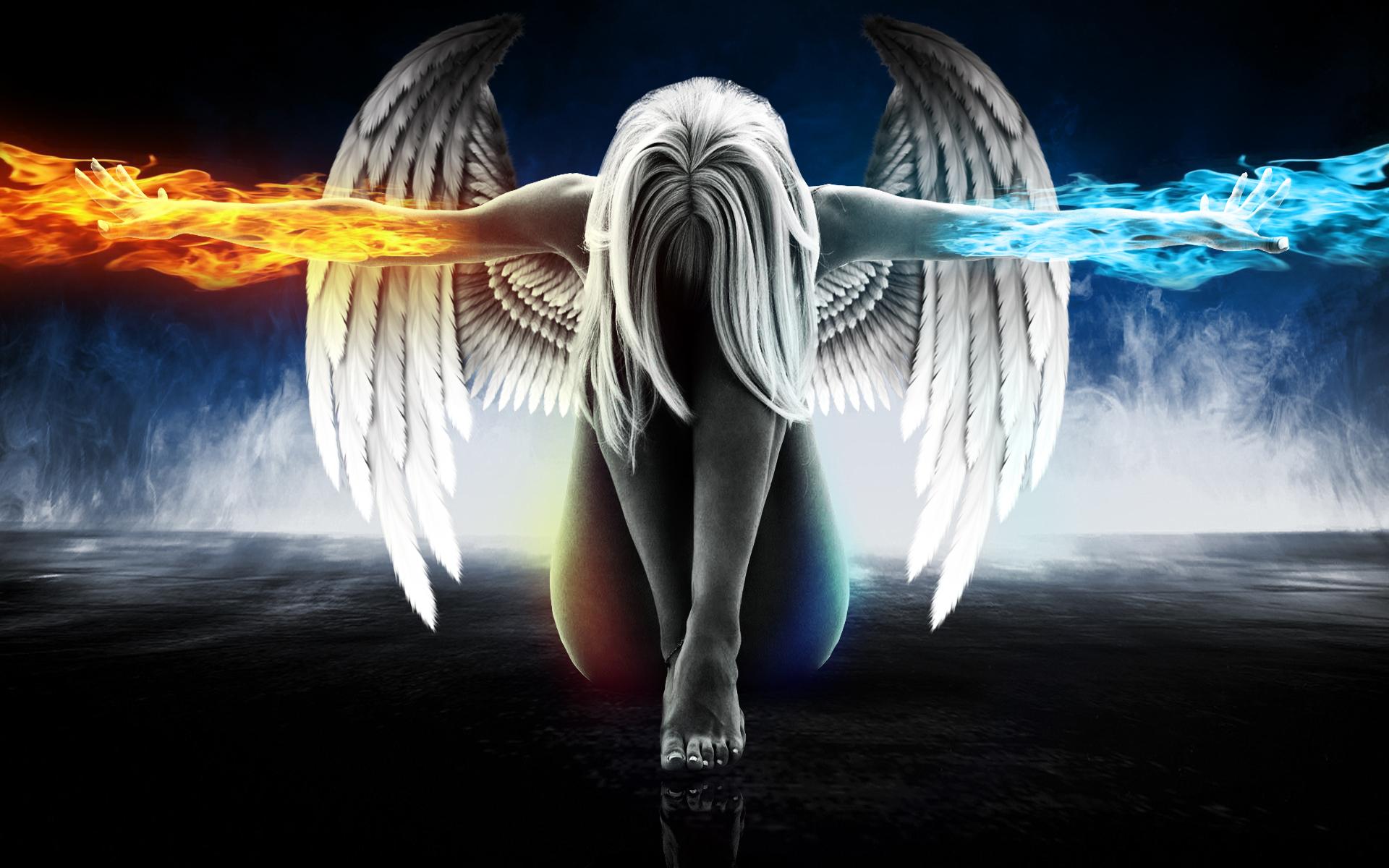Картинки красивые ангелы и демоны
