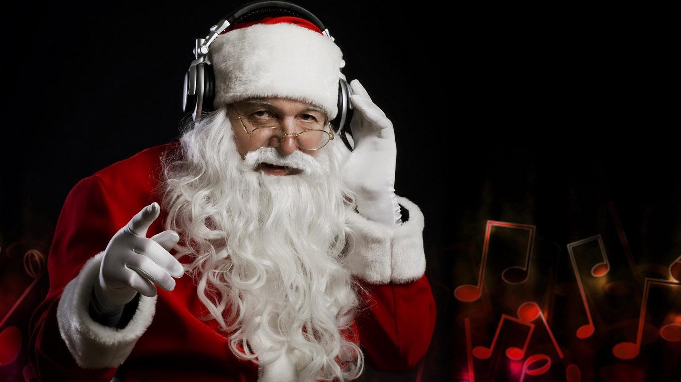 Санта смешной картинки