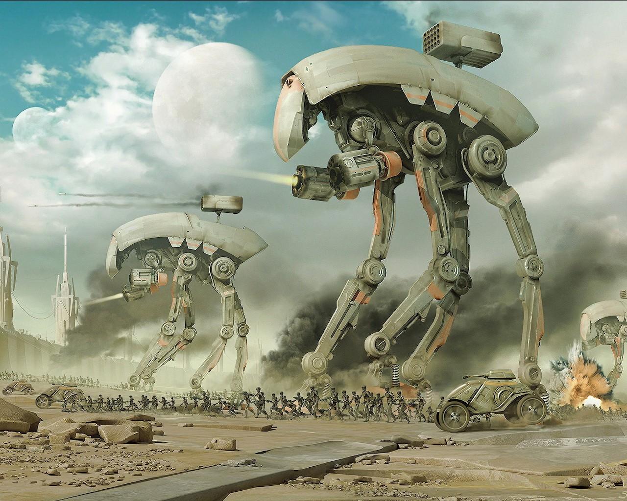 инопланетные роботы картинки нас