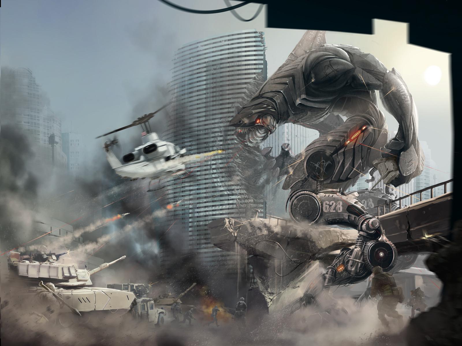 Война человека и роботов картинки