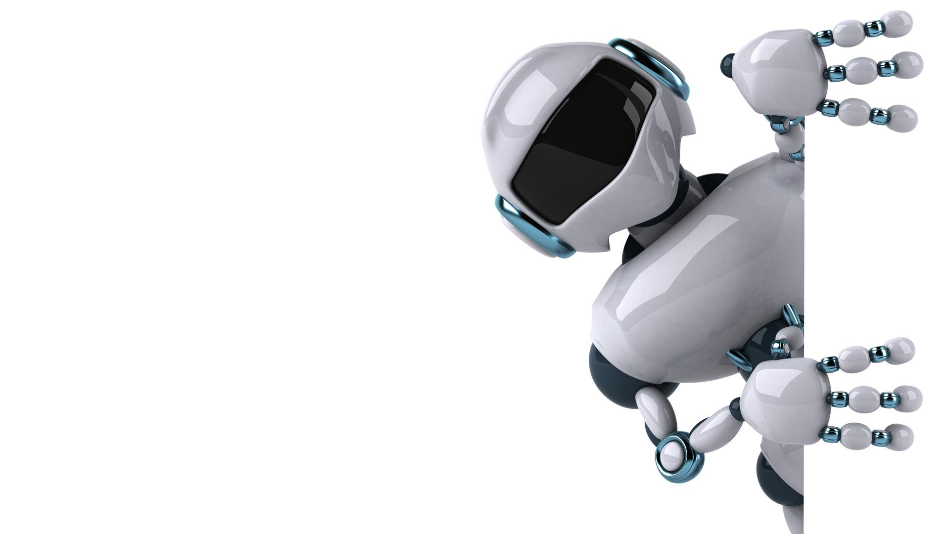 картинка с роботами для презентации