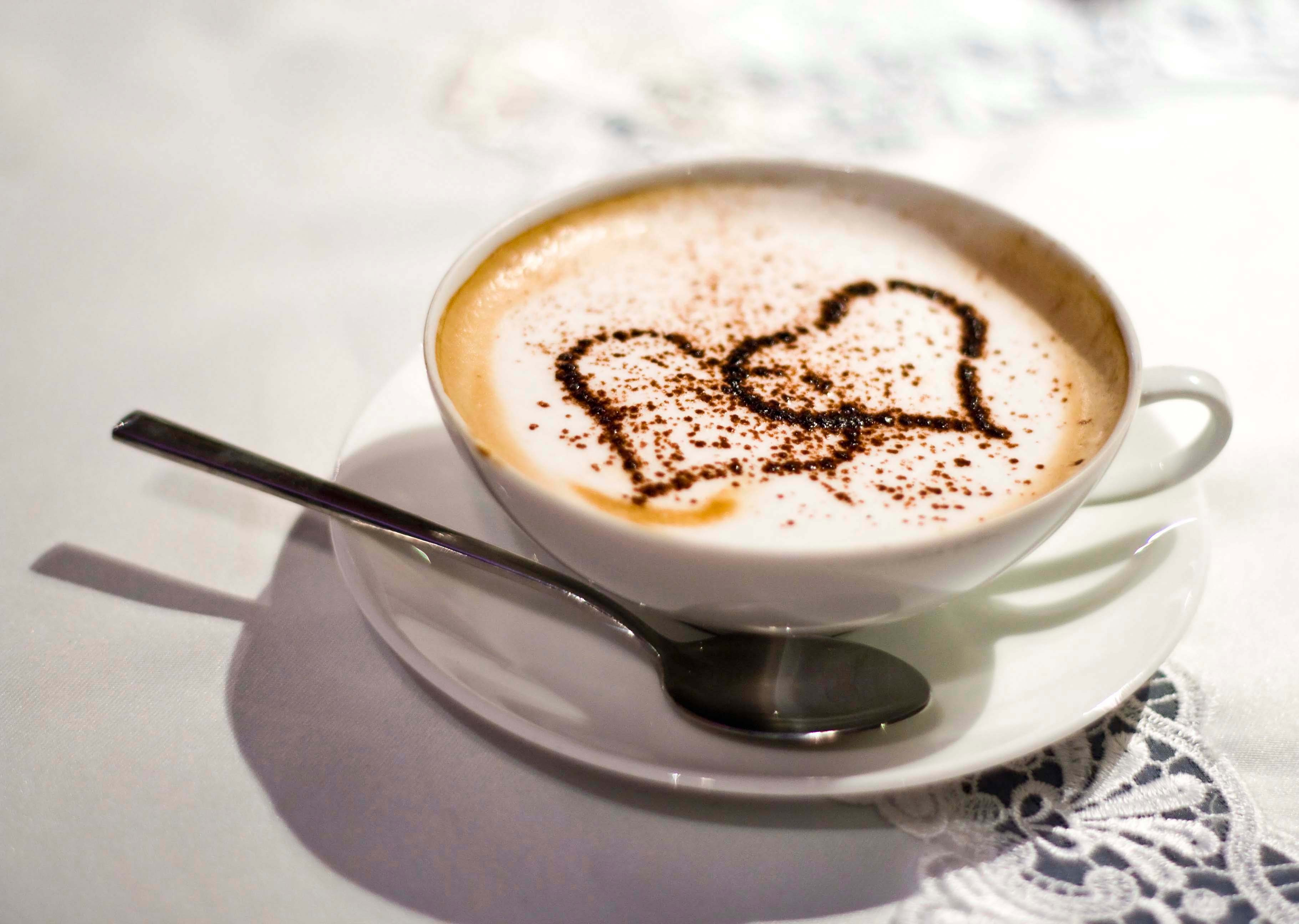 Любовное кофе из картинок