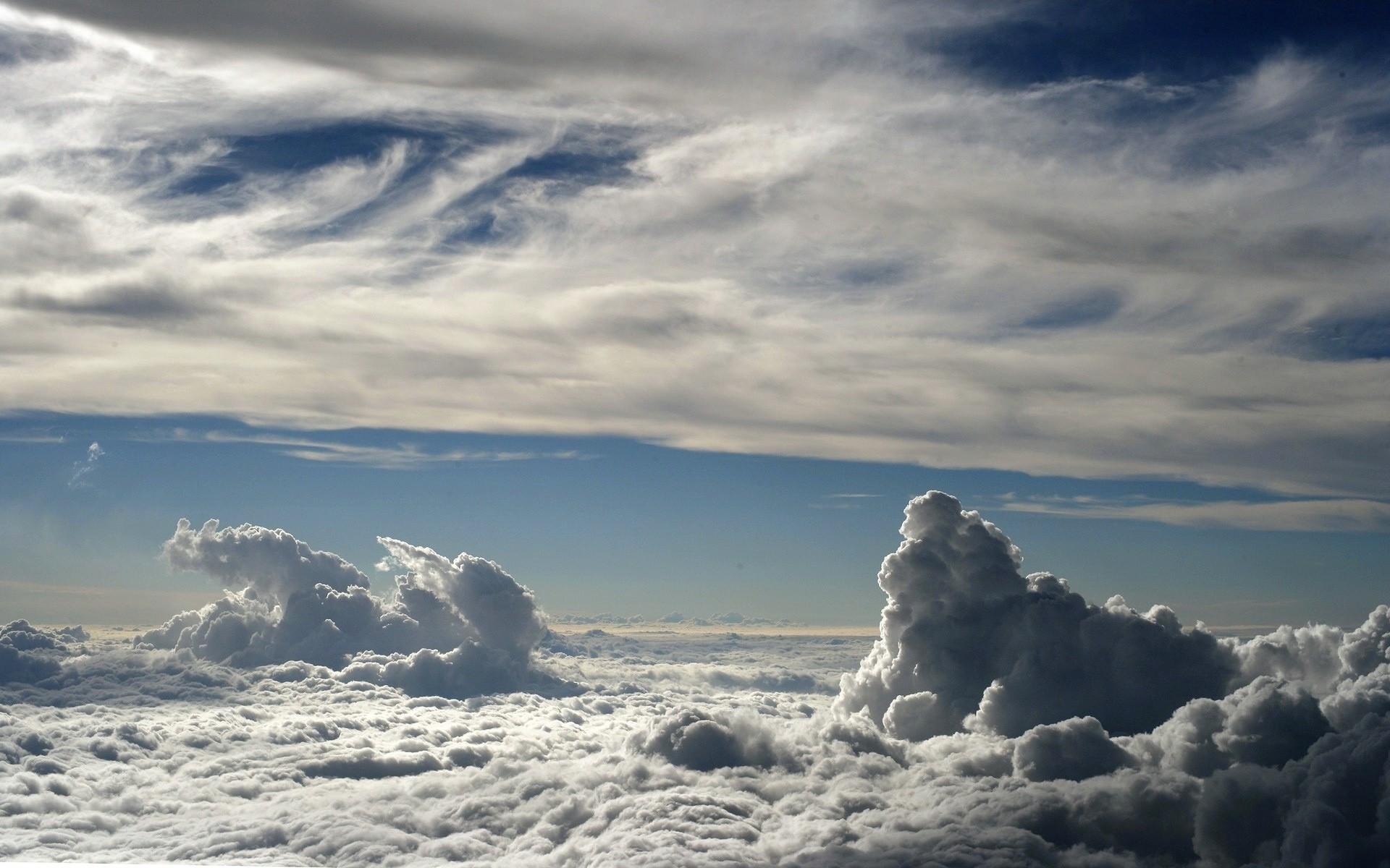 Картинки для рабочего стола облака