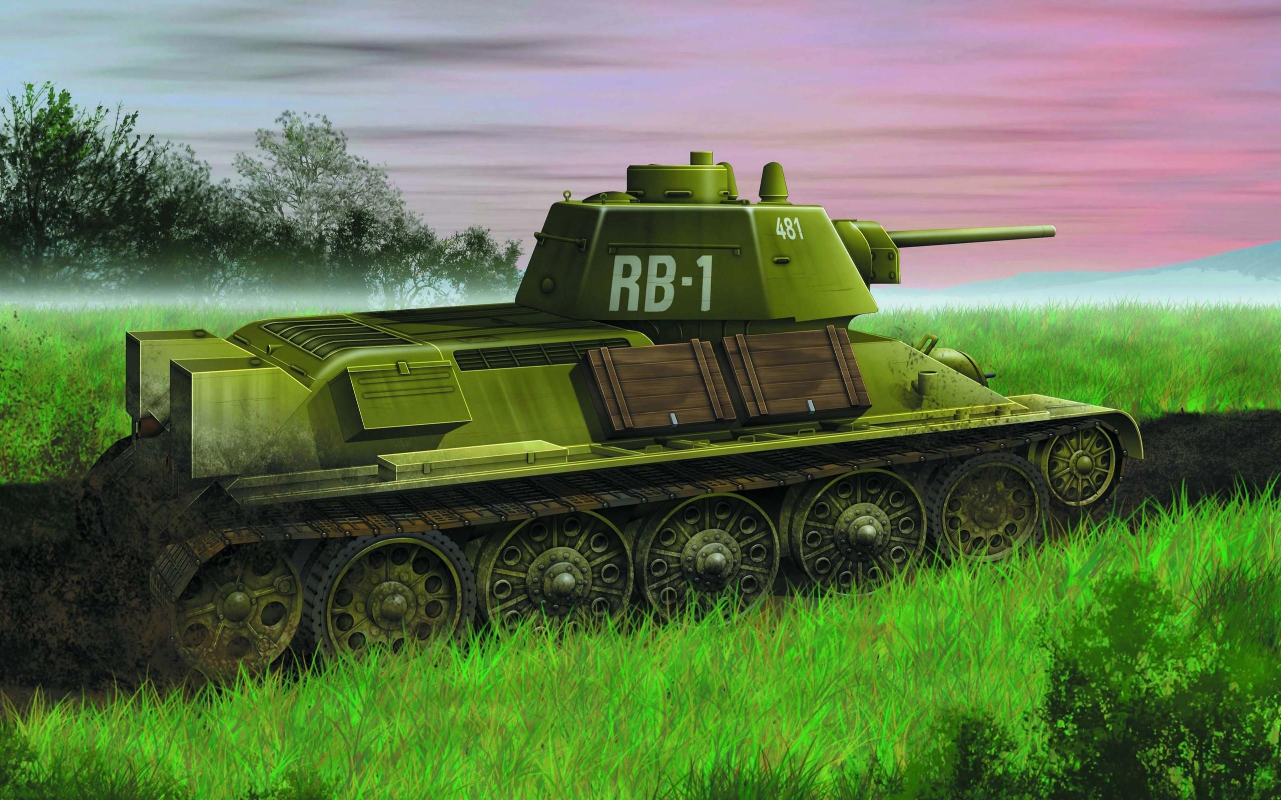 Картинка советских танков