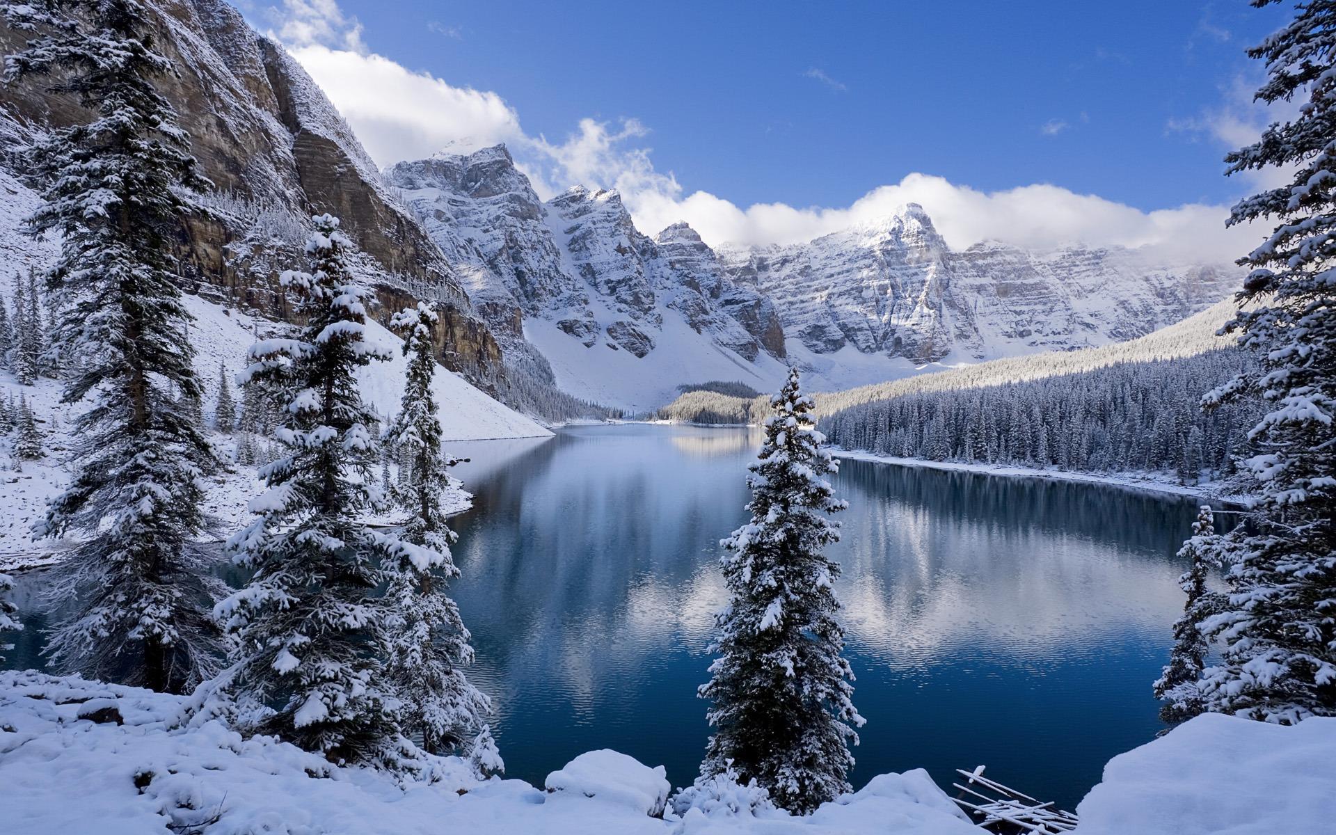 картинки зимние пейзажи красивые на рабочий стол