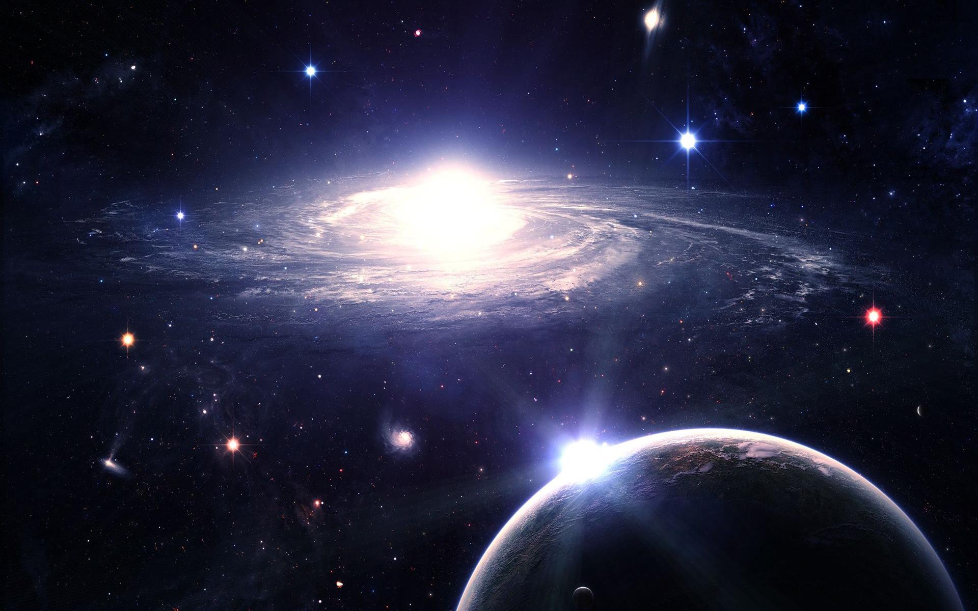 Картинки о космосе галактики и звезды