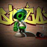 Скачать картинку граффити